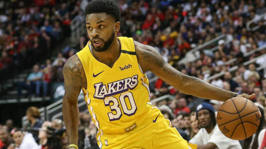 Troy Daniels cortado en Lakers