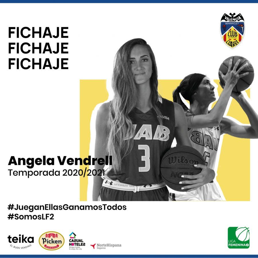 Angela Vendrell ficha por Picken Claret