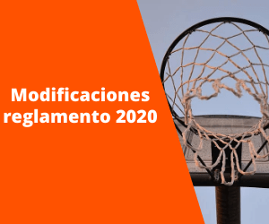 Modificaciones reglamento 2020