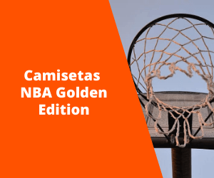 Camisetas NBA Golden Edition