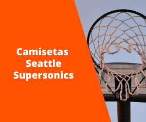 Camisetas Seattle Supersonics