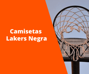 Camiseta Lakers Negra