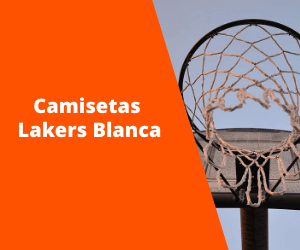 Camiseta Lakers Blanca