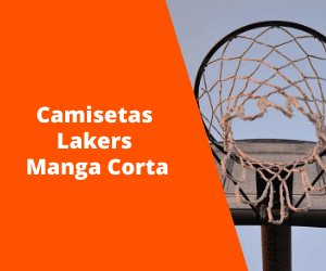 Camiseta Lakers Manga corta